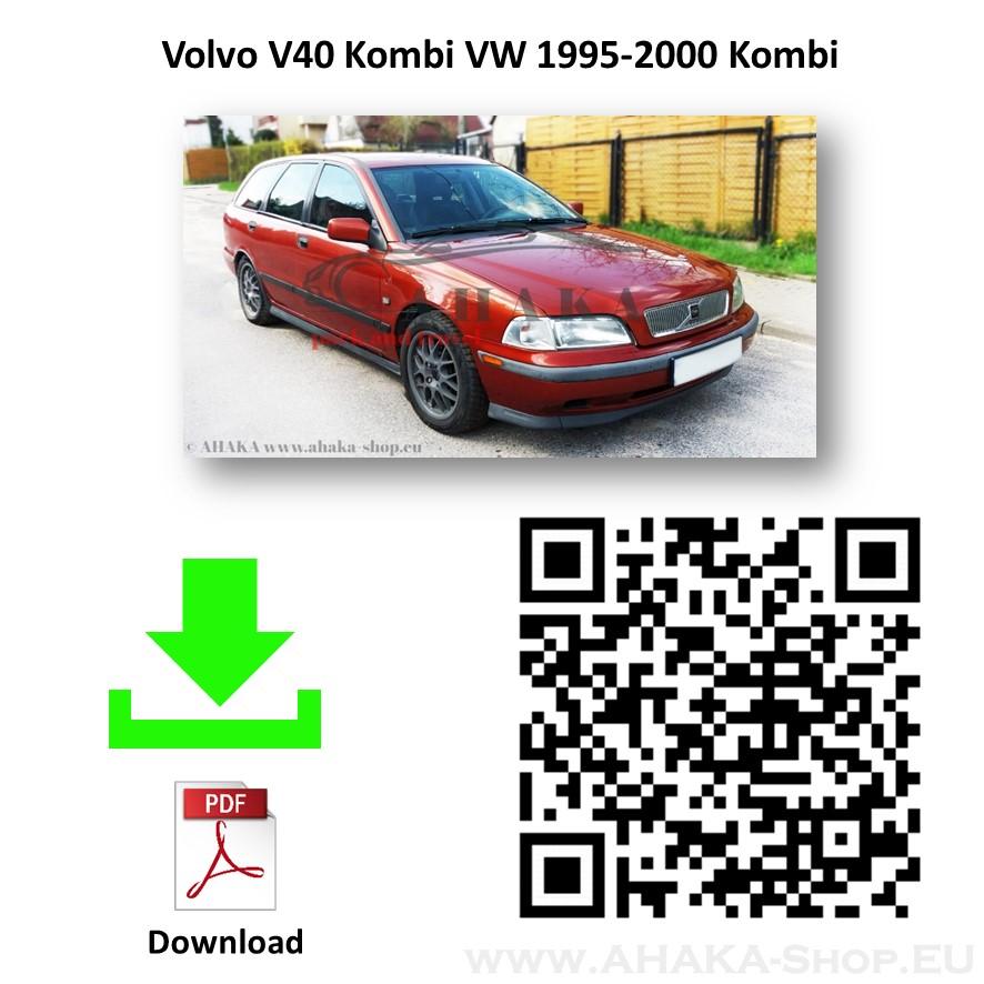 Für Volvo S40 V40 Stufenheck Kombi 1995-2000 Anhängerkupplung starr