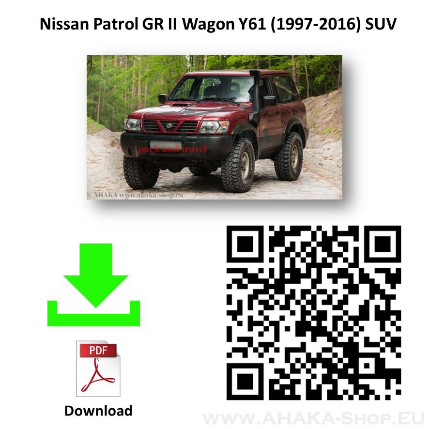 Für Nissan Patrol GR Typ Y61 Elektrosatz 13polig universell neu