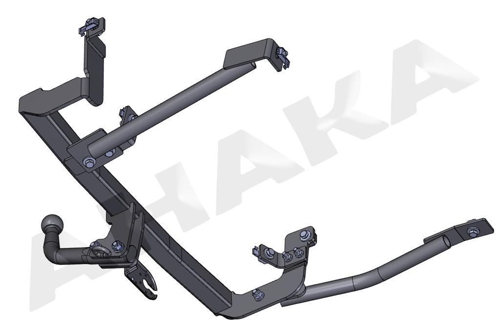 13polig E-Satz AHK Für Peugeot 106 05.96-07.03 AUTO HAK Anhängerkupplung starr